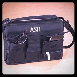 Bible/Book case carrying organizer bag NWT